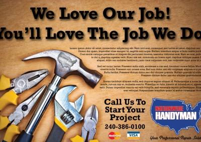 Case Study – Nationwide Handyman