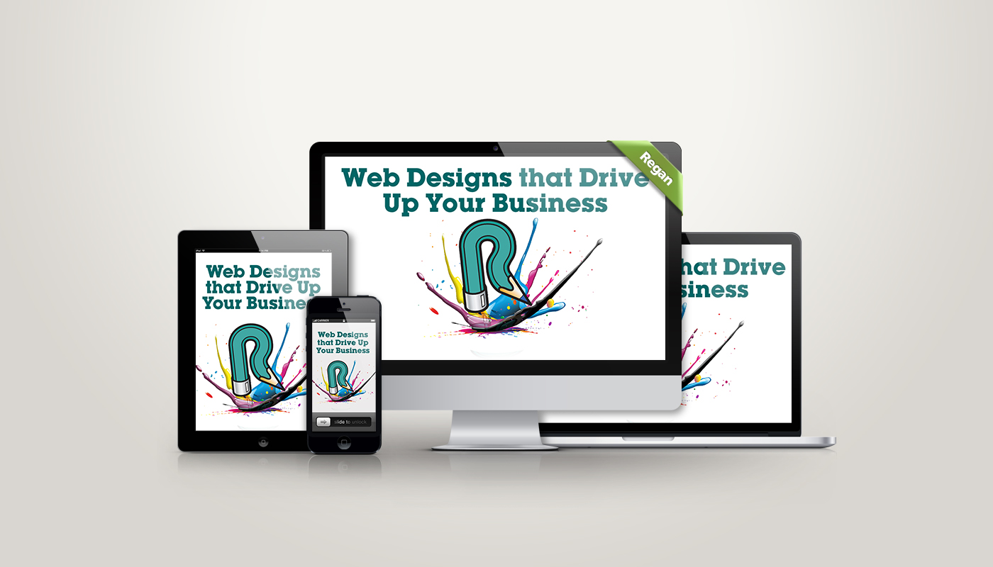 Web Designs on different size screens