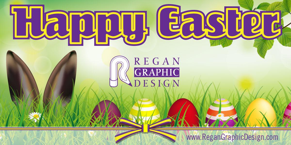 Happy Easter Regan Graphic Design